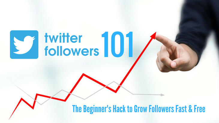 How to grow twitter followers fast - the beginner's hack