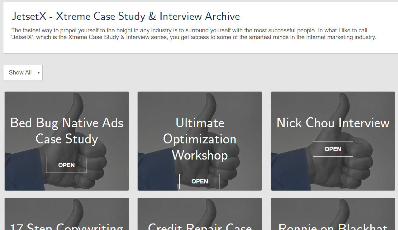 Xtreme casestudy upsell screenshot