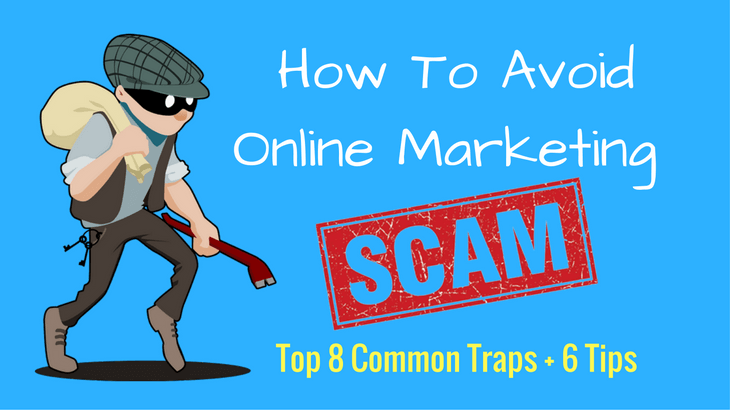How To Avoid Online Marketing Scams