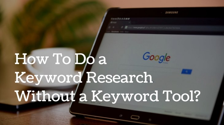 manual keyword research