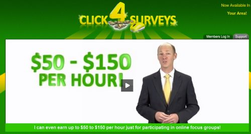 click 4 surveys promises