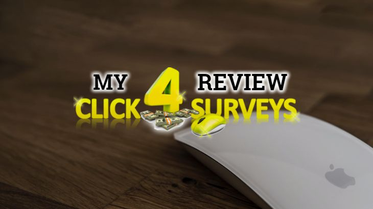 is click 4 surveys legit