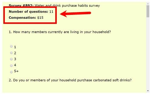 click 4 surveys fake sample survey