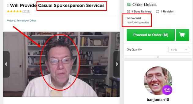 casual spokesperson service
