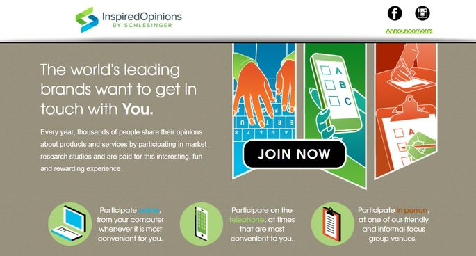 inspired opinions homepage