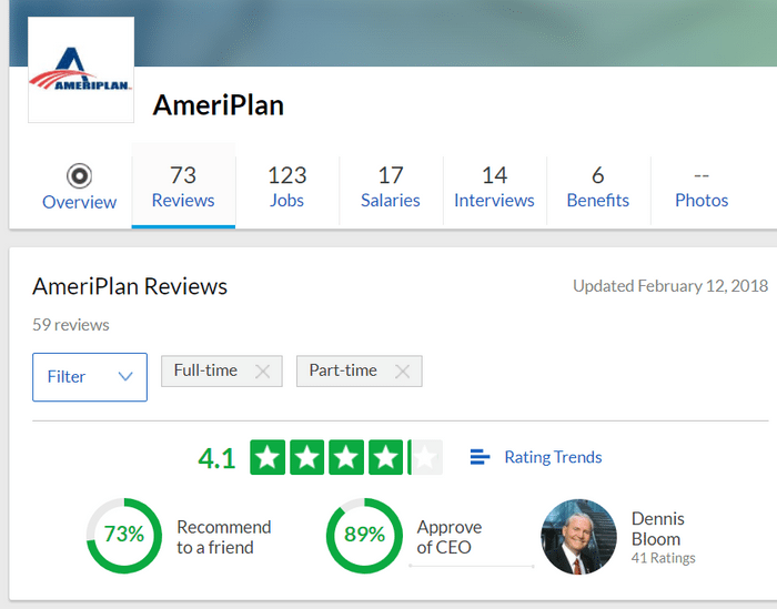 Is ameriplan a scam surviving 25 years in business is not by luck ameriplan rating review ameriplan rating on glassdoor malvernweather Images