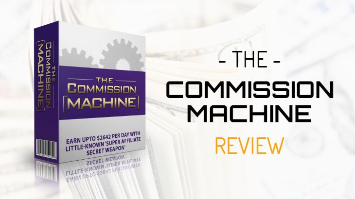 is commission machine a scam