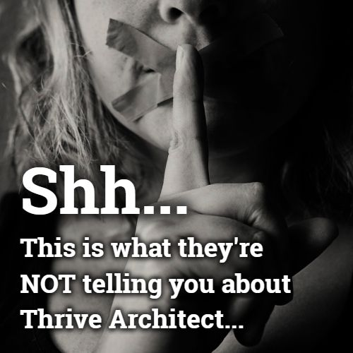 thrive architect scam