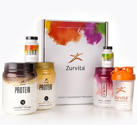 zurvita weight management program