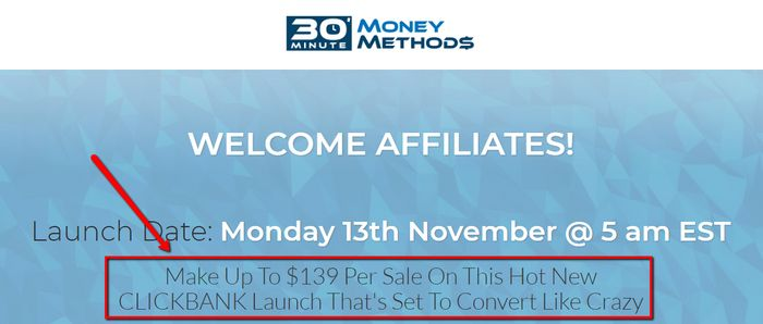 30 minute money methods affiliate