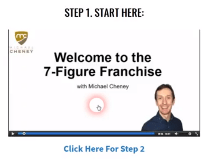 7 figure franchise members area