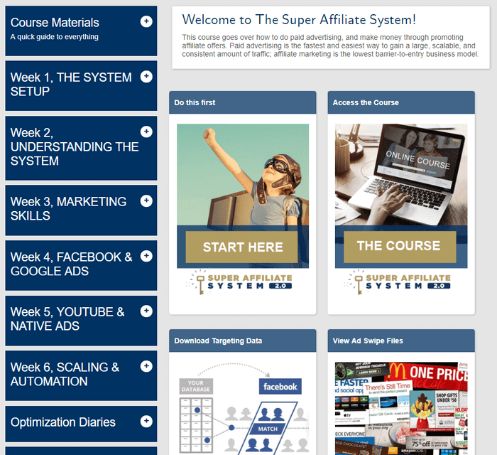 super affiliate system training