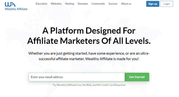 wealthy affiliate signup