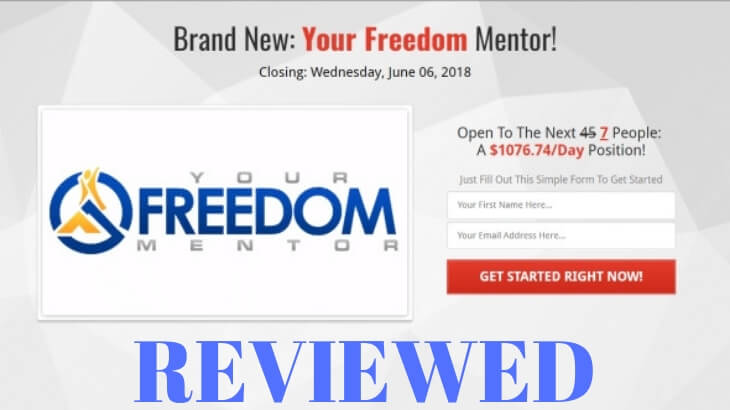 Is Your Freedom Mentor A Scam?