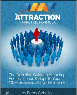 Attraction Marketing Formula Book Cover