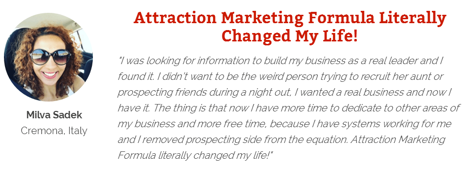 Attraction Marketing review