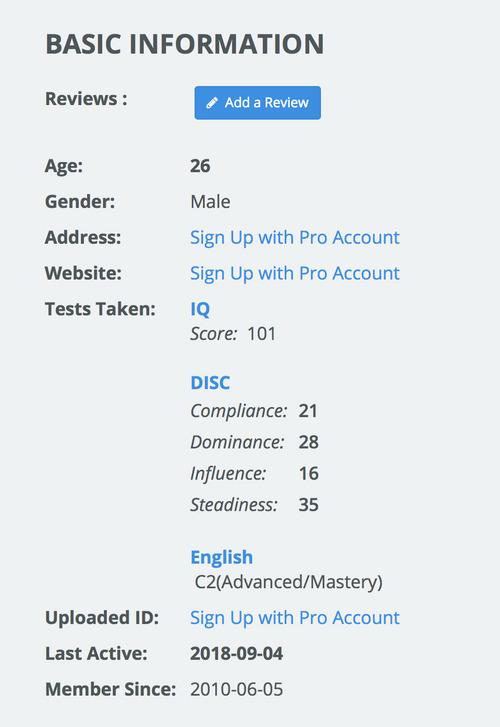 onlinejobs.ph writer profile