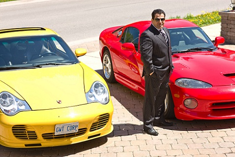 Global Wealth Founder and CEO Ramin Mesgarlou