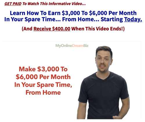 Home Income Systems Landing Page - My Dream Biz