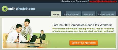 American Online JObs Online Flex Job