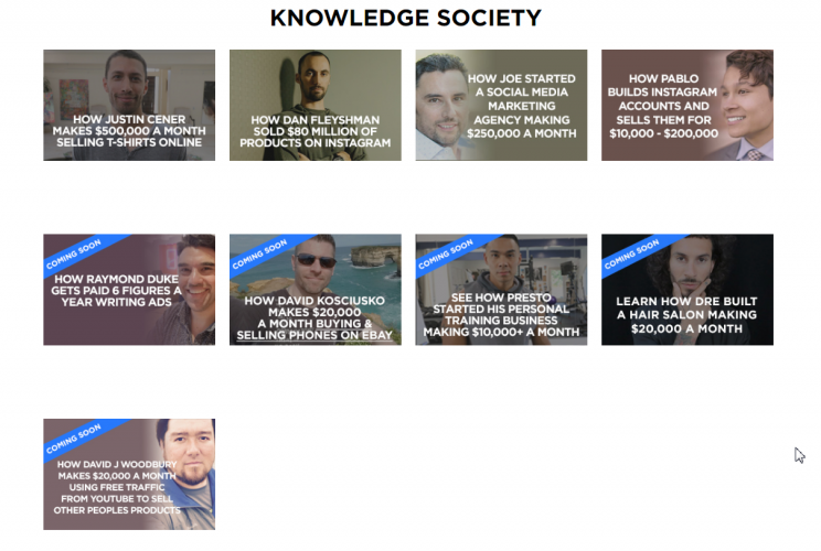 Knowledge Society Courses