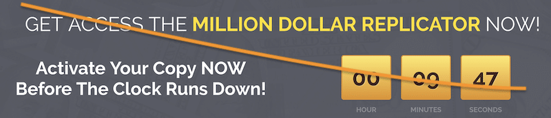 Million Dollar Replicator Fake Timer