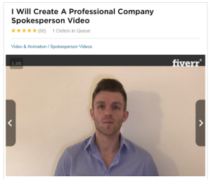 Million Dollar Replicator Fiverr Actors