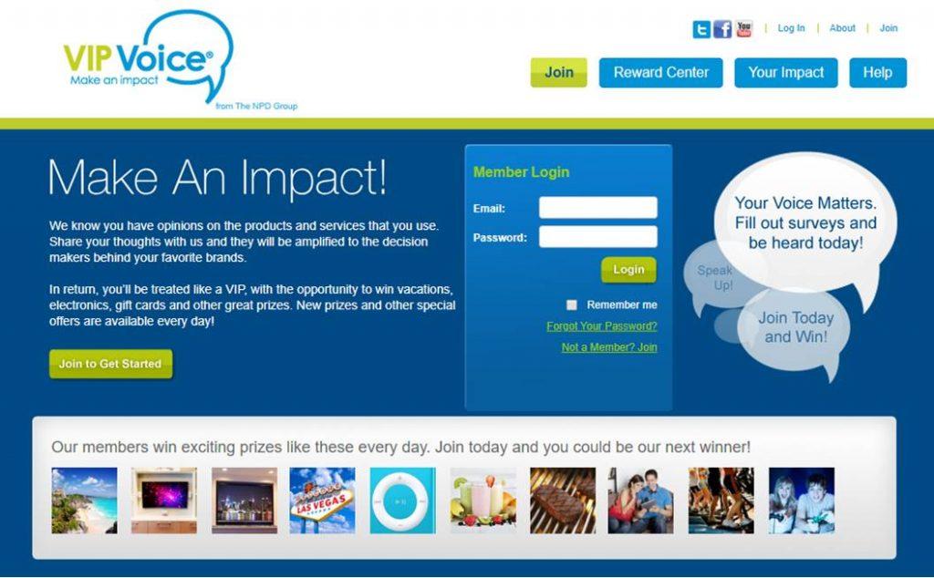 VIP Voice Homepage