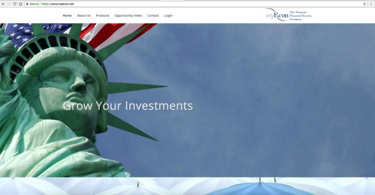 myEcon Homepage