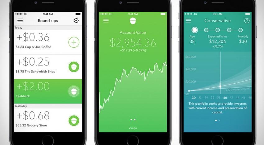 Acorns App Key Features