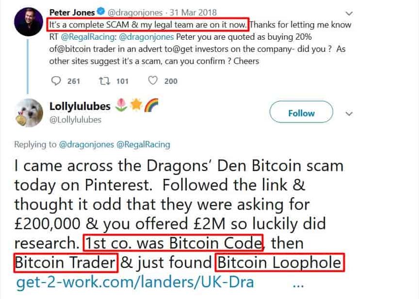 Bitcoin Loophole Dragons Den
