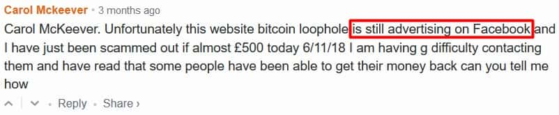 Bitcoin Loophole People Got Scammed
