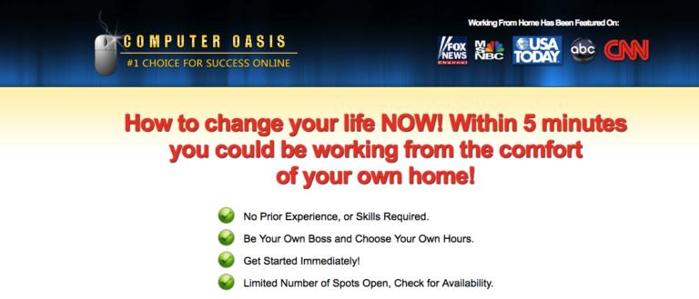 Computer Oasis Homepage