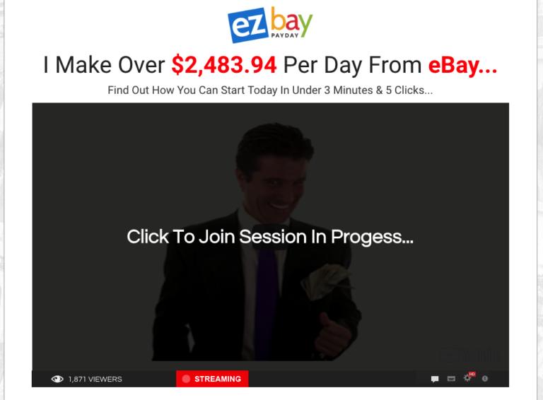 EZ Bay Payday Website