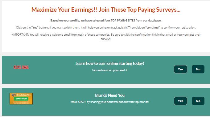 Panel Payday Surveys