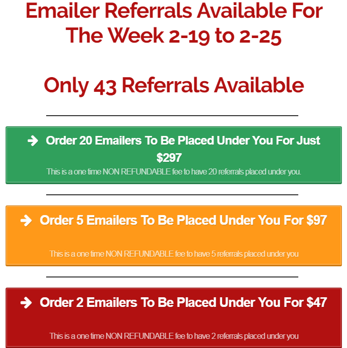 Copy My Email System Referrals
