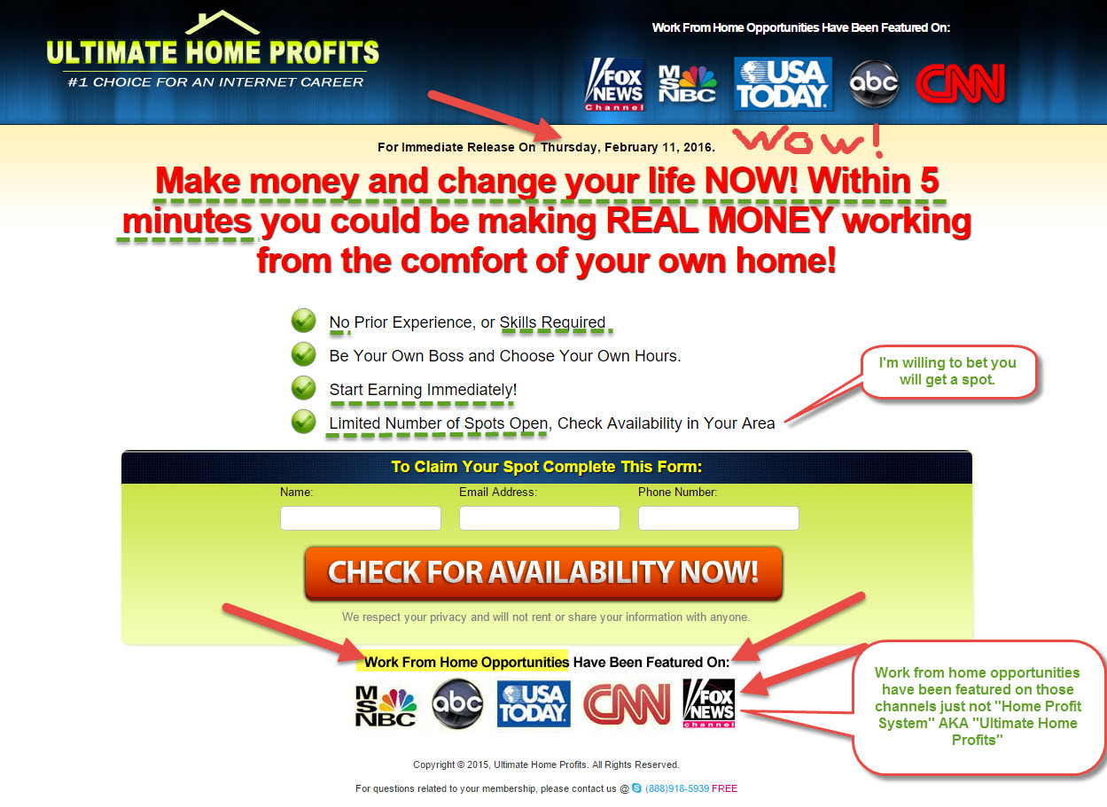 Home Profit System Ultimate Home Profits