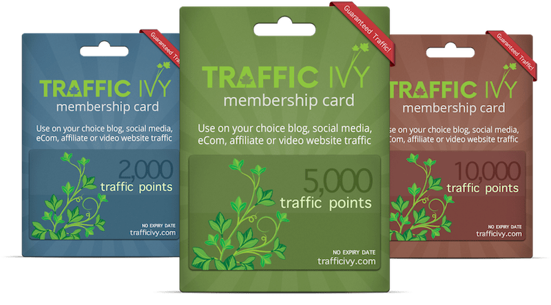 Traffic Ivy Products