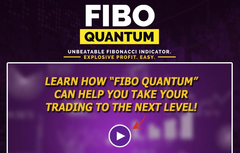 Fibo Quantum Landing Page