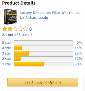 The Lottery Dominator Amazon review