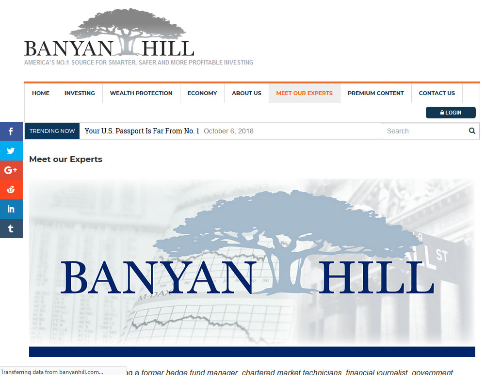 Total Wealth Insider Banyan Hill Landing Page