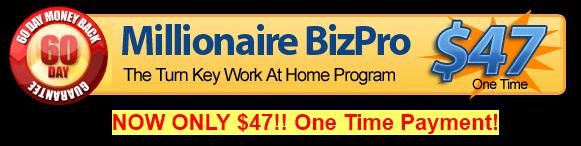 Is Millionaire Biz Pro a Scam - Landing Banner