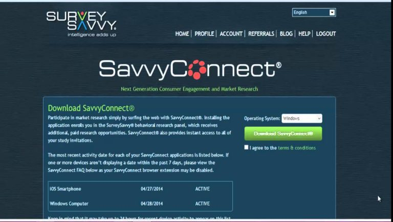 SavvyConnect Review - Landing Page