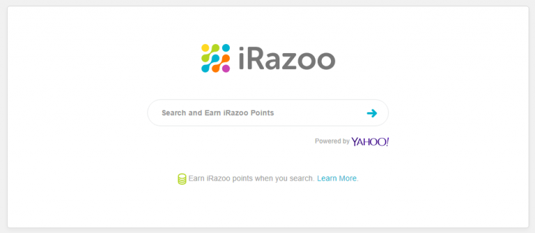 iRazoo Review - Sample Searching The Web