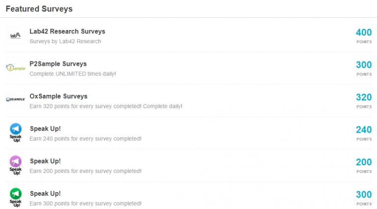 iRazoo Review - Sample Surveys