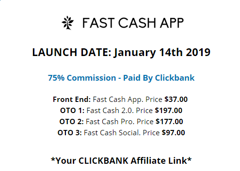 Fast Cash App Review - Upsells