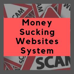 Money Sucking Websites System Review Image Summary