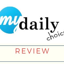 My Daily Choice Review Image Summary