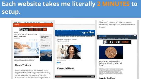 Secret Affiliate Machine Review - Lies About the Website