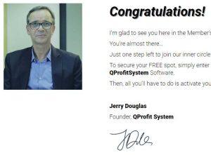 Is Q Profit System a Scam - Jerry Douglas